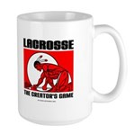 Lacrosse-DrawMan Large Mug