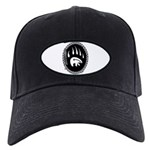 Tribal Bear Claw Black Cap with Patch