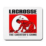 Lacrosse-DrawMan Mousepad