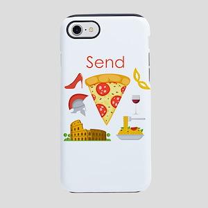Send Pizza iPhone 8/7 Tough Case