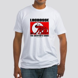 Lacrosse-DrawMan Fitted T-Shirt