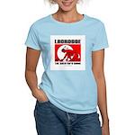 Lacrosse-DrawMan Women's Pink T-Shirt
