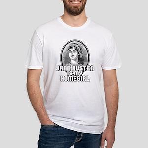 Jane Austen Fitted T-Shirt