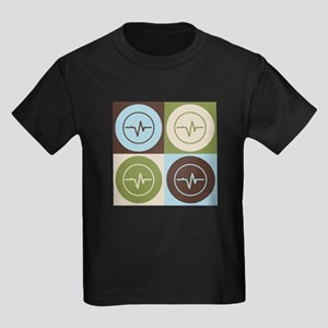 Biomedical Engineering Pop Art Kids Dark T-Shirt