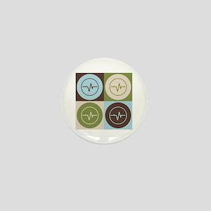 Biomedical Engineering Pop Art Mini Button