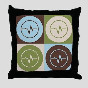 Biomedical Engineering Pop Art Throw Pillow
