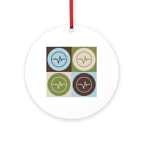 Biomedical Engineering Pop Art Ornament (Round)