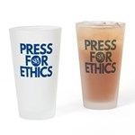Press for Ethics Drinking Glass