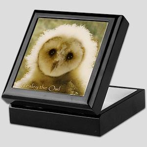 Wesley the Owl - Keepsake Box