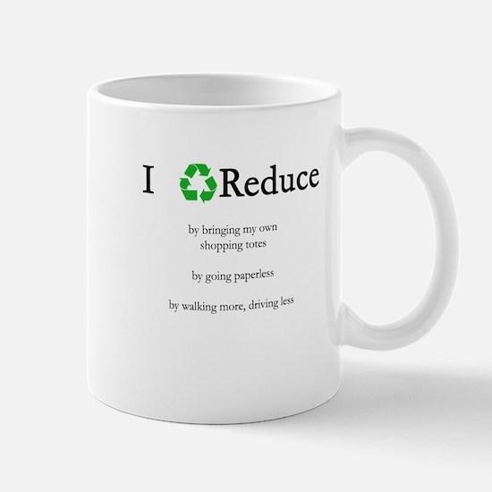 I Reduce Mug
