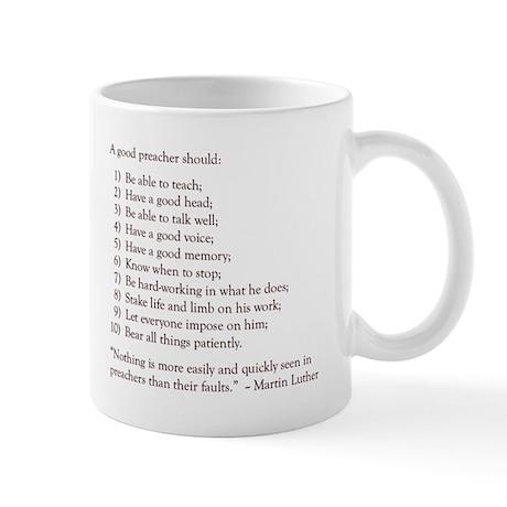 Good Preacher Mug