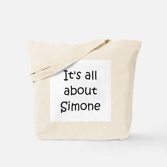 Cool Simone Tote Bag