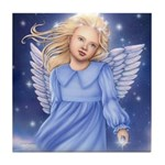 Angel of the Air Tile Coaster