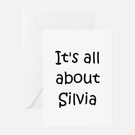 Silvia Greeting Card