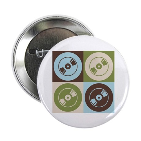 """Audio and Video Pop Art 2.25"""" Button (10 pack)"""