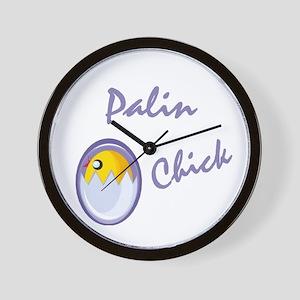 Palin Chick Wall Clock