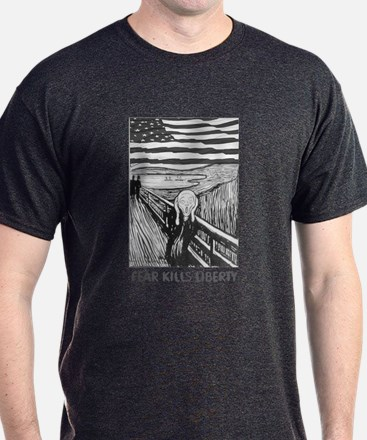 Fear Kills Liberty T-Shirt