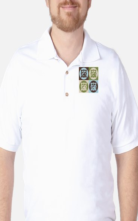 Art History Pop Art Golf Shirt