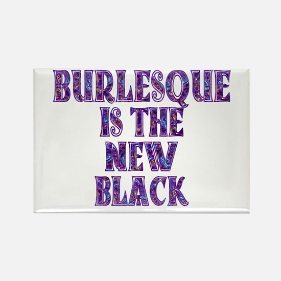 burlesque Rectangle Magnet