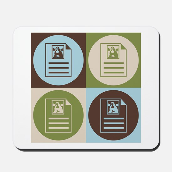 Archives Pop Art Mousepad