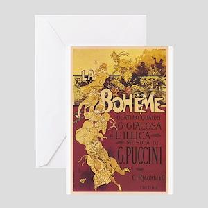 La Boheme Greeting Card