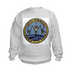 USS DENEBOLA Kids Sweatshirt