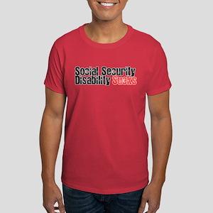 Social Security Sucks Dark T-Shirt