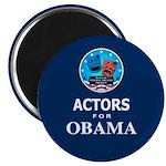 ACTORS FOR OBAMA Magnet