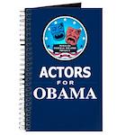 ACTORS FOR OBAMA Journal
