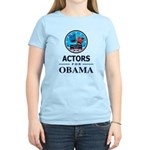 ACTORS FOR OBAMA Women's Light T-Shirt