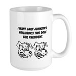 Gary Johnsons Dogs Mugs