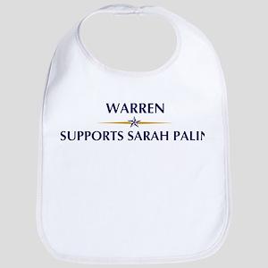 WARREN supports Sarah Palin Bib