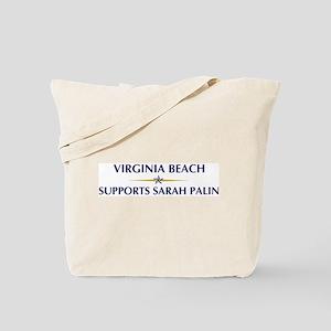 VIRGINIA BEACH supports Sarah Tote Bag