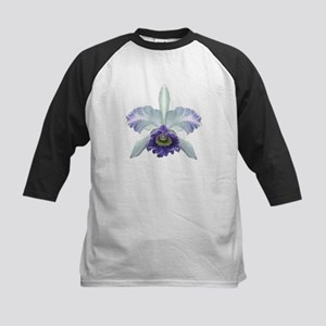 Colorful Orchids Kids Baseball Jersey