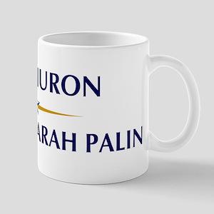 PORT HURON supports Sarah Pal Mug