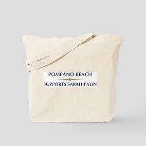 POMPANO BEACH supports Sarah Tote Bag