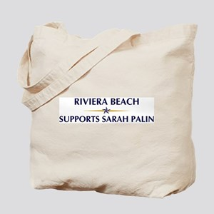 RIVIERA BEACH supports Sarah Tote Bag
