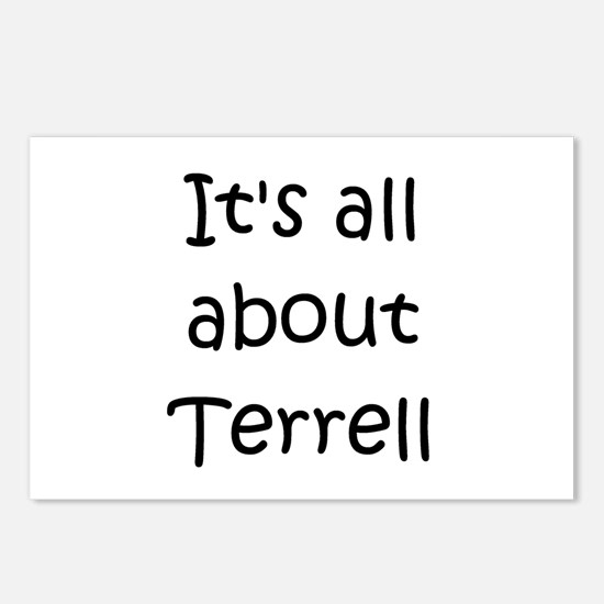 Funny Terrell Postcards (Package of 8)