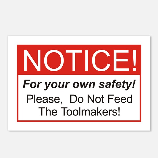 Notice / Toolmakers Postcards (Package of 8)