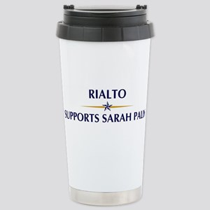 RIALTO supports Sarah Palin Stainless Steel Travel