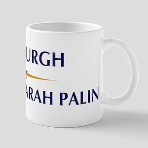 PITTSBURGH supports Sarah Pal Mug