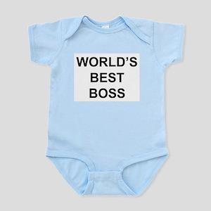 """""""World's Best Boss"""" Infant Bodysuit"""