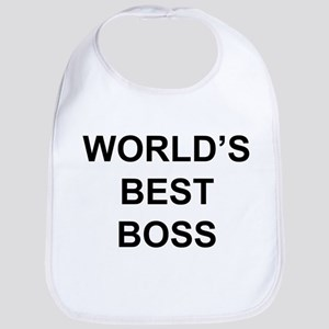 """World's Best Boss"" Bib"