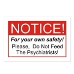 Notice / Psychiatrists Postcards (Package of 8)