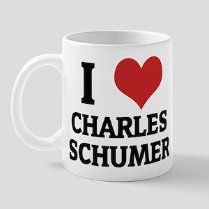 I Love Charles Schumer Mug
