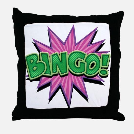 Bingo Bang Throw Pillow