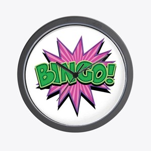 Bingo Bang Wall Clock
