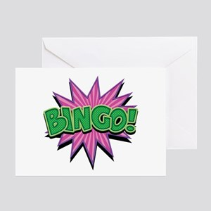 Bingo Bang Greeting Cards (Pk of 10)