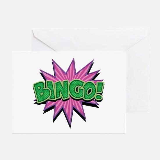 Bingo Bang Greeting Cards (Pk of 10)
