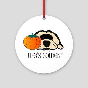 Life's Golden Halloween Keepsake (Round)